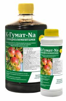 K - Гумат - Na  с микроэлементами 0,12 л